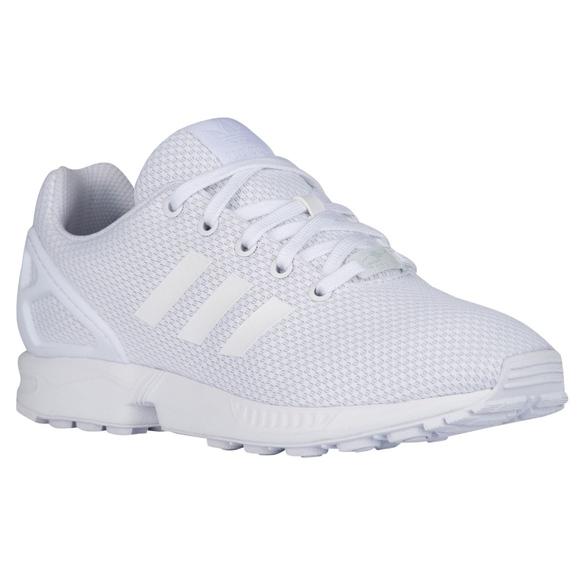 6d1166e566ca9 NWT adidas Originals ZX Flux Boys Kids Shoes White